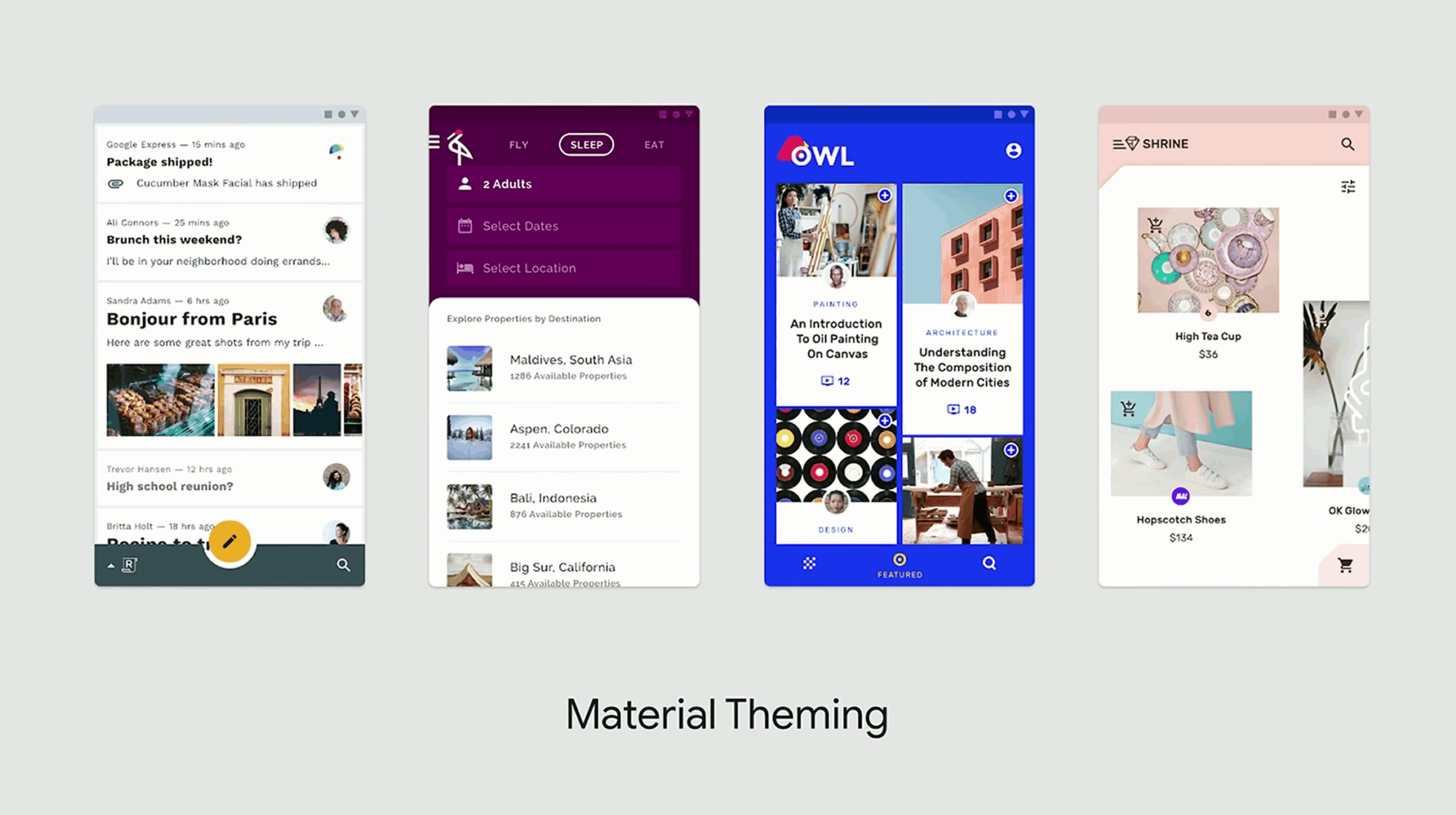 Material Theming: Build Expressively with Material Components 02